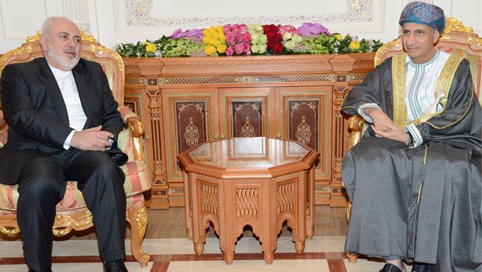 Sayyid Fahd receives Indian, Iranian foreign ministers