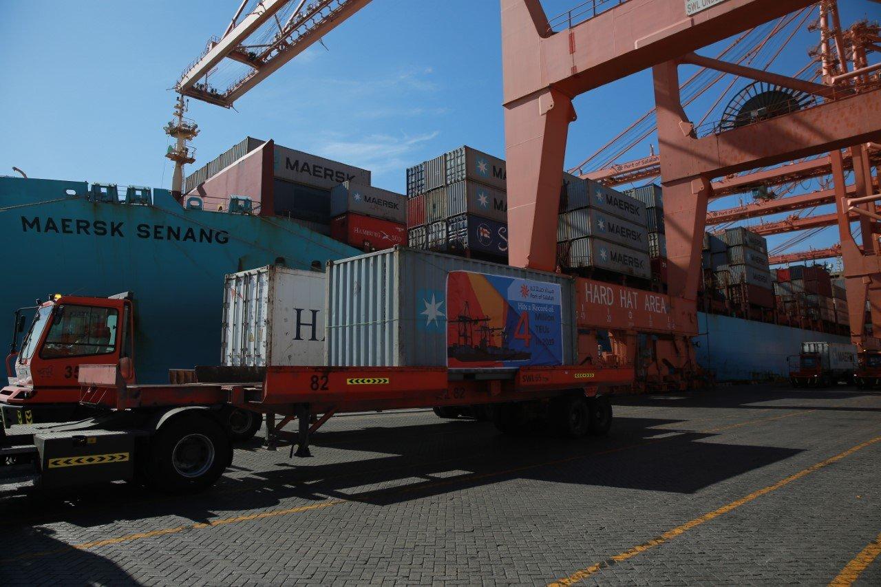 Port of Salalah hits 4 million TEU mark
