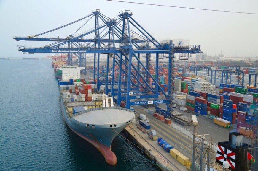 3.8 مليار ريال قيمة الواردات الجمركية لمنافذ السلطنة البحرية بنهاية سبتمبر الماضي