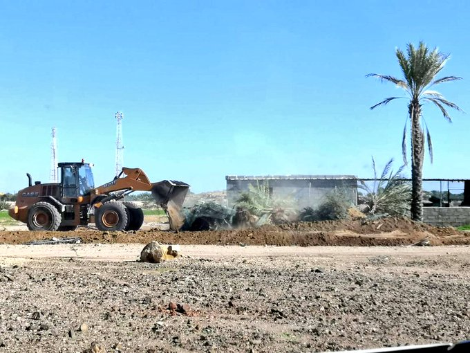 Authorities remove illegal encroachment in Oman