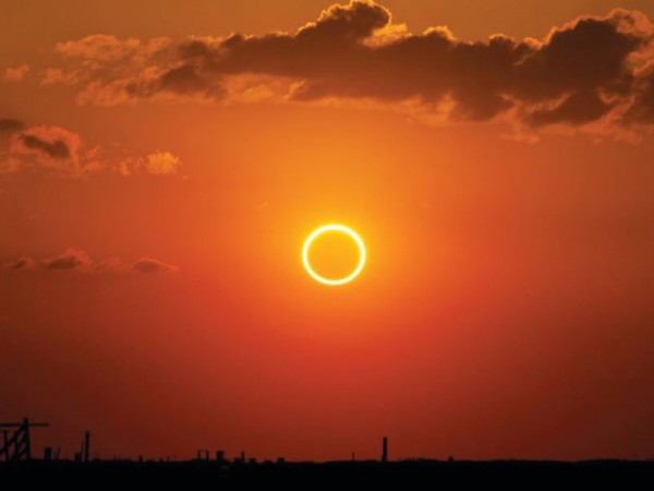 Free protective glasses made available to solar eclipse watchers