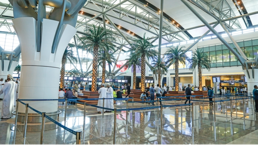 Drones in airspace affect operations at Muscat Airport
