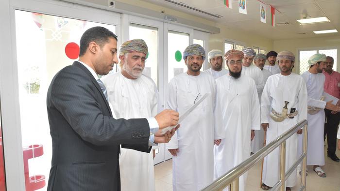 Al-Busaidi visits Al-Wusta Health Institutions