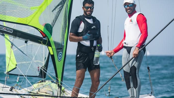 Omani Olympic hopefuls ready to impress at 49er World Championship
