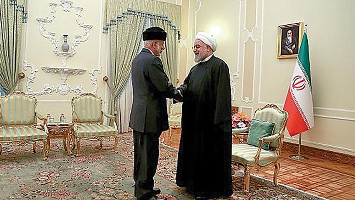 Iranian president receives Alawi