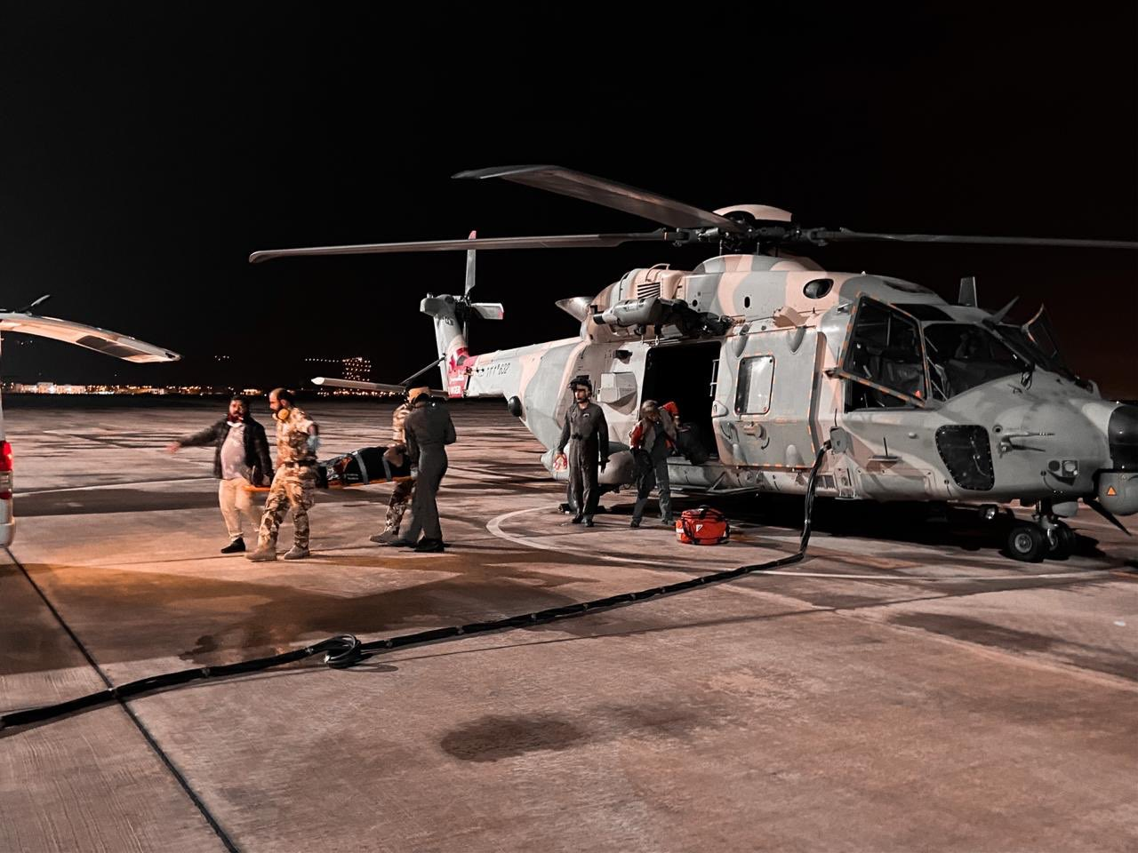 Expat in Oman rescued by air force