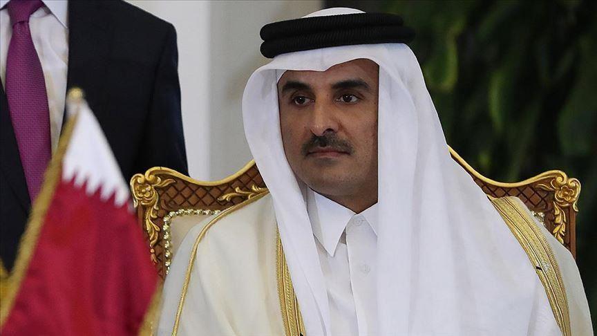 أمير قطر: رحل السلطان قابوس  تاركاً وراءه بلداً ناهضاً وإرثاً عظيماً يعتز به الجميع