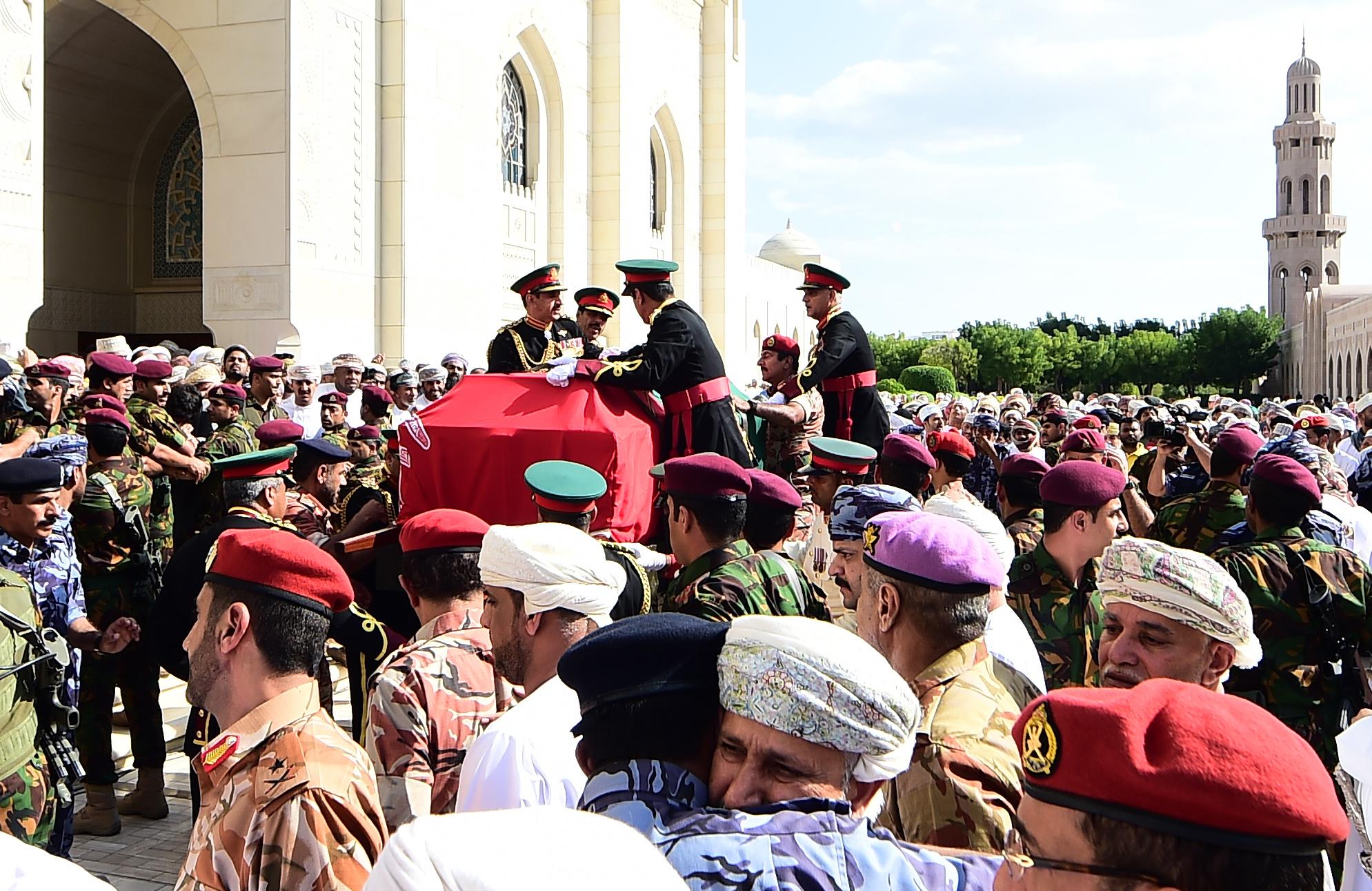 Oman bids tearful adieu to His Majesty Sultan Qaboos