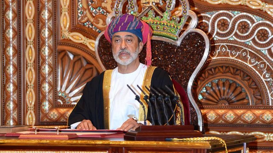 جلالة السلطان هيثم بن طارق  يتلقى برقية تعزية ومواساة من أمير دولة الكويت