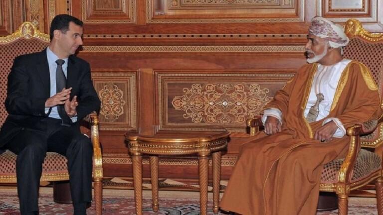 الأسد يبعث برقية تعزية بوفاة سلطان عمان قابوس بن سعيد