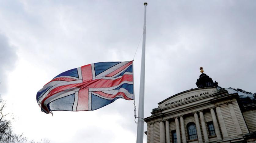 """""""بريطانيا"""" تعلن تنكيس الأعلام لوفاة المغفور له جلالة السلطان قابوس"""
