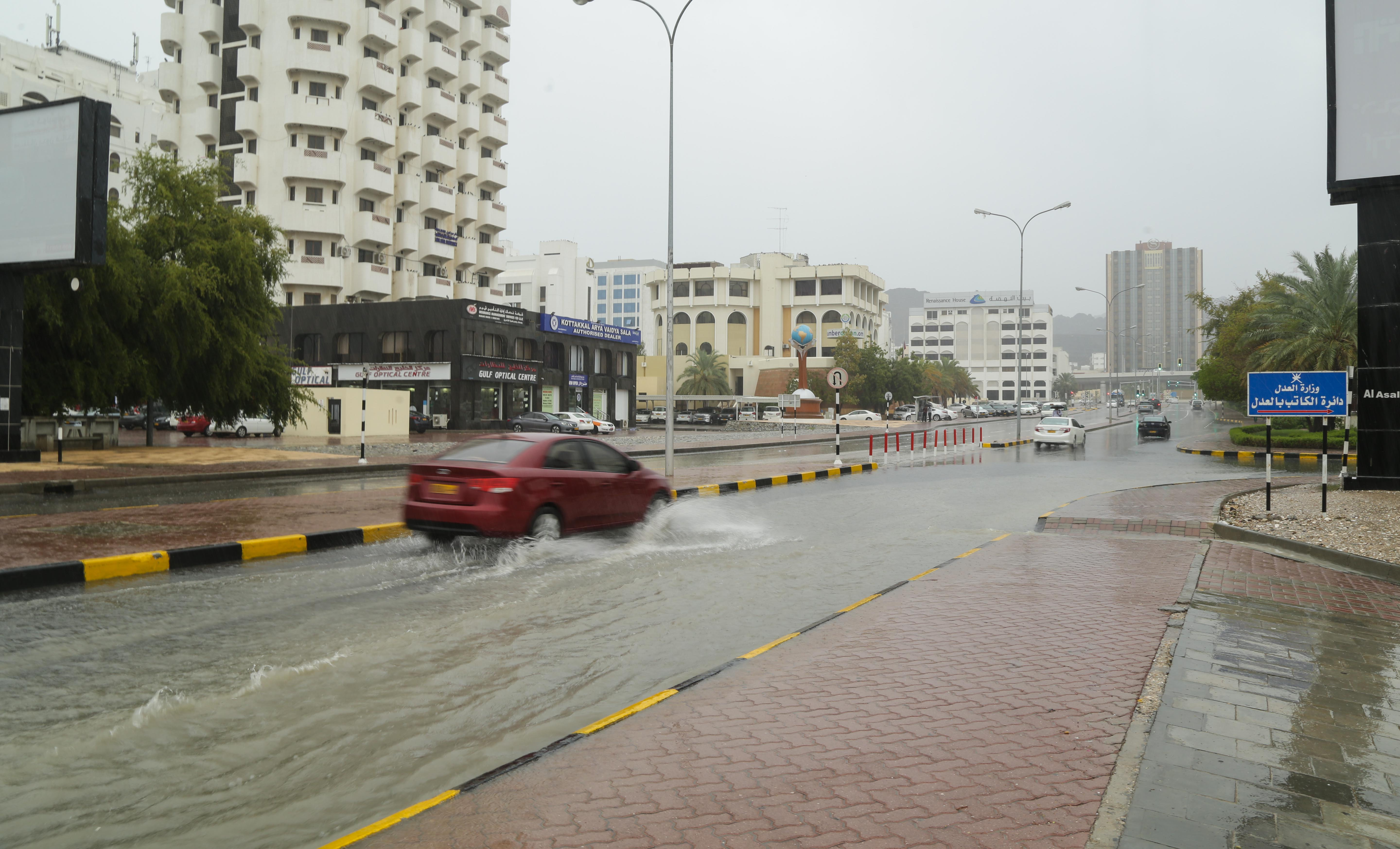 In pictures: Rainfall recorded across many parts of Oman