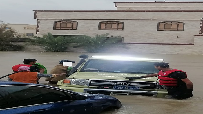 Several rescued from flooded wadis in Muscat