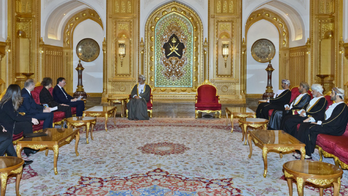 HM gives audience to Envoy of Italian President