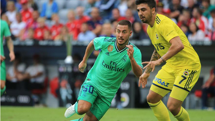 Hazard: I was overweight when I arrived at Real Madrid