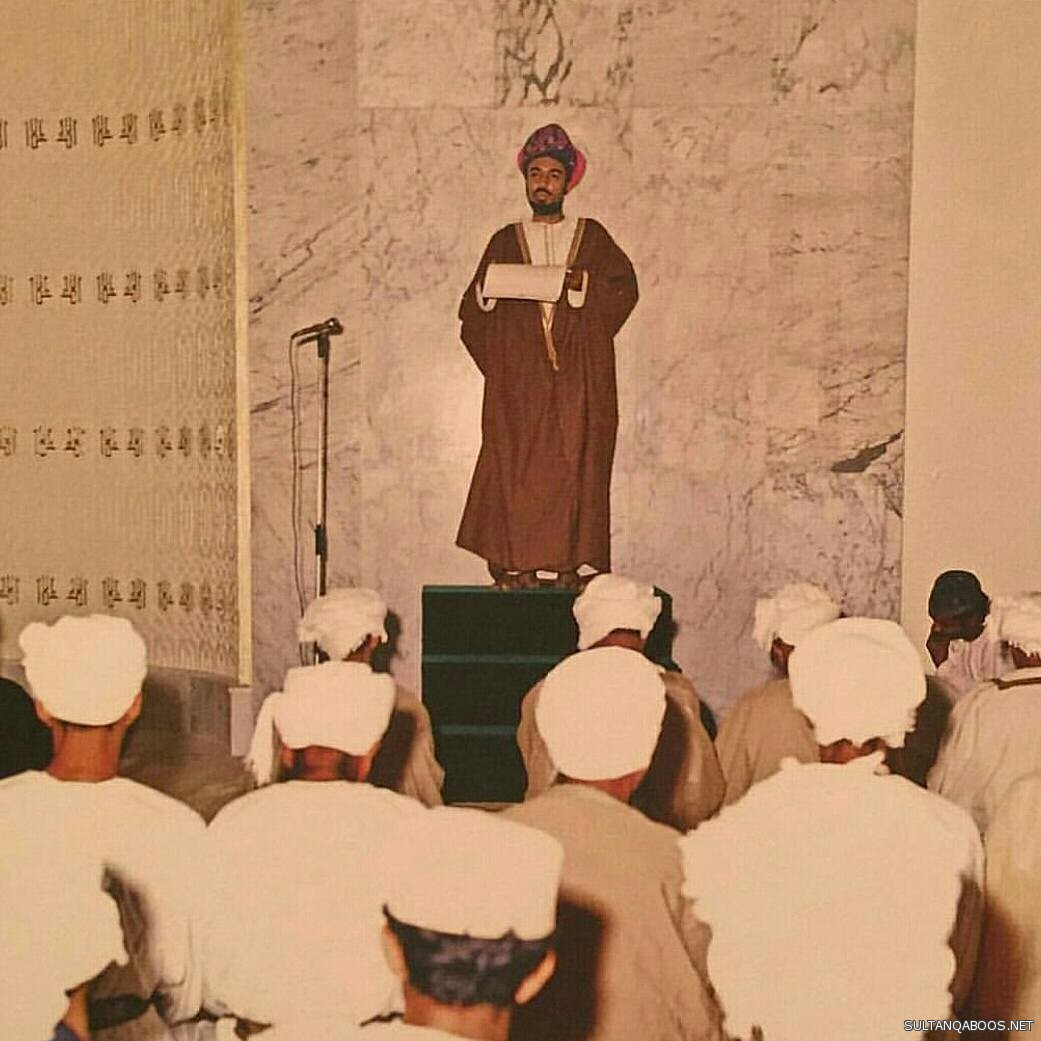 In Pictures: Rare photos of His Majesty Sultan Qaboos