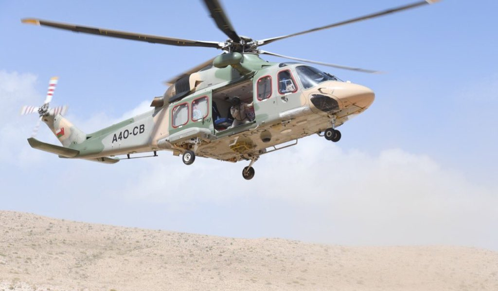 Man rescued after getting trapped on mountain in Oman