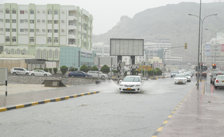 Rain forecast over Muscat