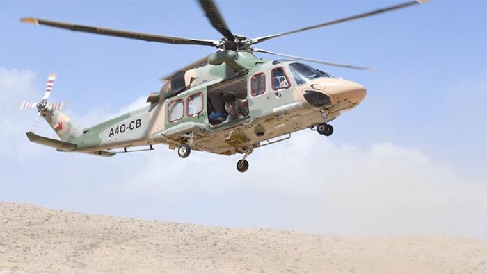 Chopper rescues woman stuck on Oman mountain
