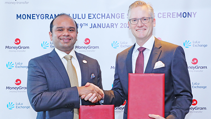 MoneyGram partners with Lulu Financial Holdings