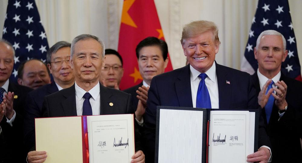 ترامب يكشف عن علاقته مع الرئيس الصيني