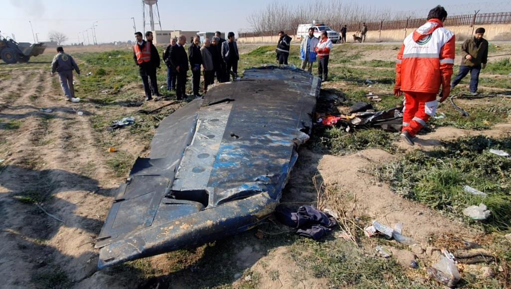 منظمة الطيران المدني الإيرانية تؤكد أن الطائرة الأوكرانية أُسقطت بصاروخين