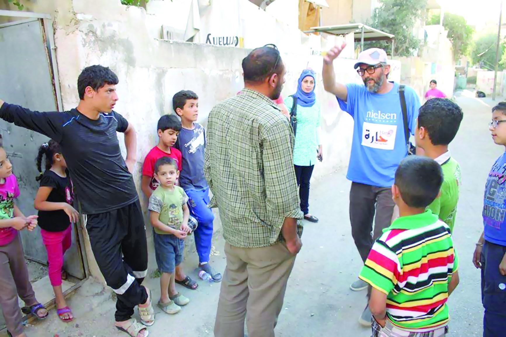 """مبادرة """"الحارة""""  لتجميل أحياء عمّان"""