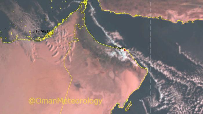 Temperature set to drop in Oman