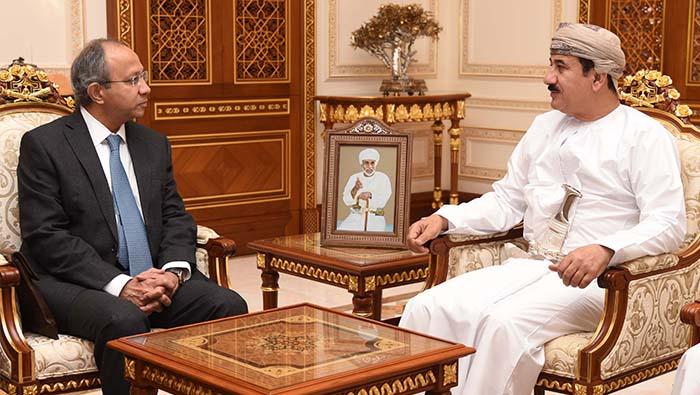 Al Nu'amani meets Indian official