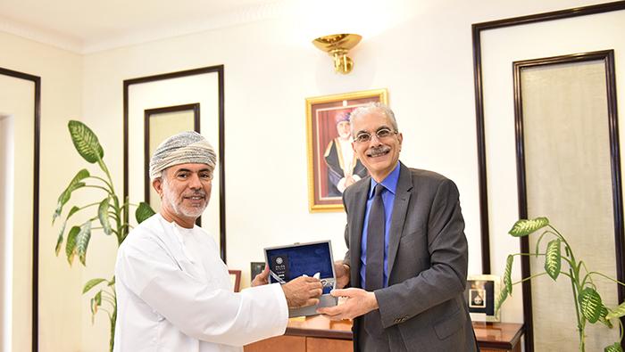 CMA receives Secretary-General of IOSCO