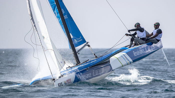EFG Bank tops at on-going sailing tour in Oman