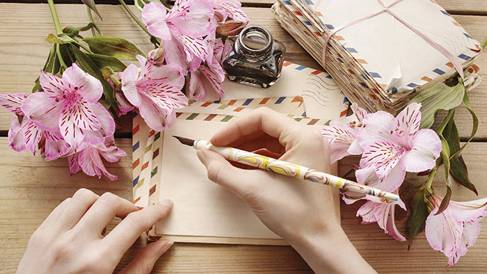 Revive the lost art of letter writing
