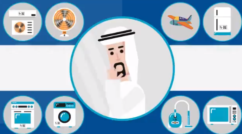 Only buy electrical devices with Gulf Conformity Mark in Oman