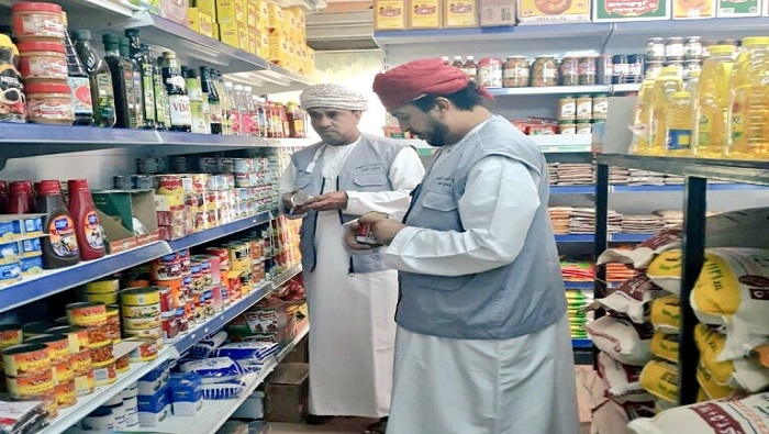 Food inspection campaign in Oman results in two warnings issued