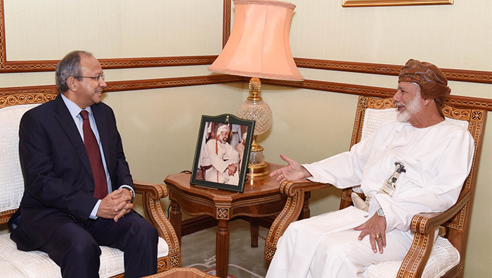 Alawi receives top Indian official