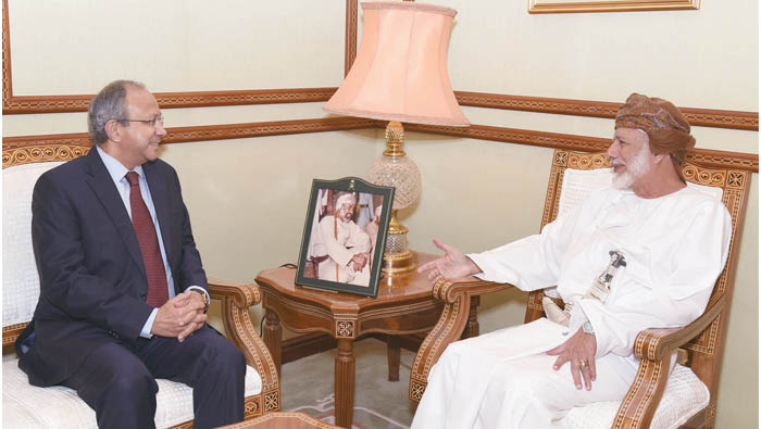 Alawi meets Indian official