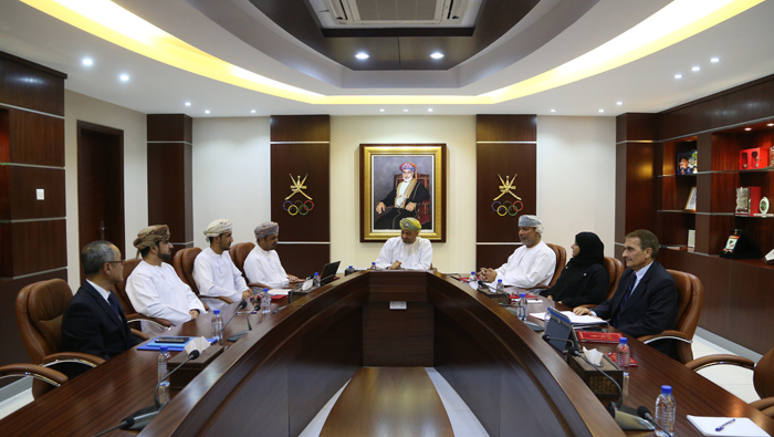 OOC Chairman meets Bowling and Bicycle Committees