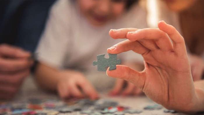 Jigsaw puzzles - perfect for 'me' and 'we' time