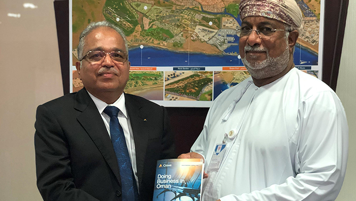 Crowe Oman booklet to lure investors to Sultanate