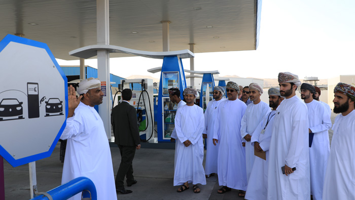 First green service station launched