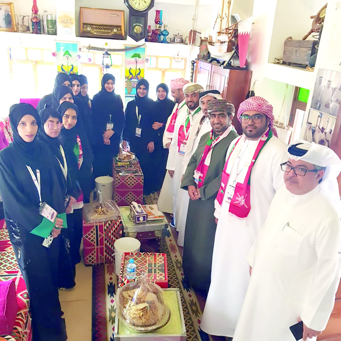 اختتم وفد طلبة كلية البريمي الجامعية المشارك في رحلة قطر التدريبية 2020 زيارته