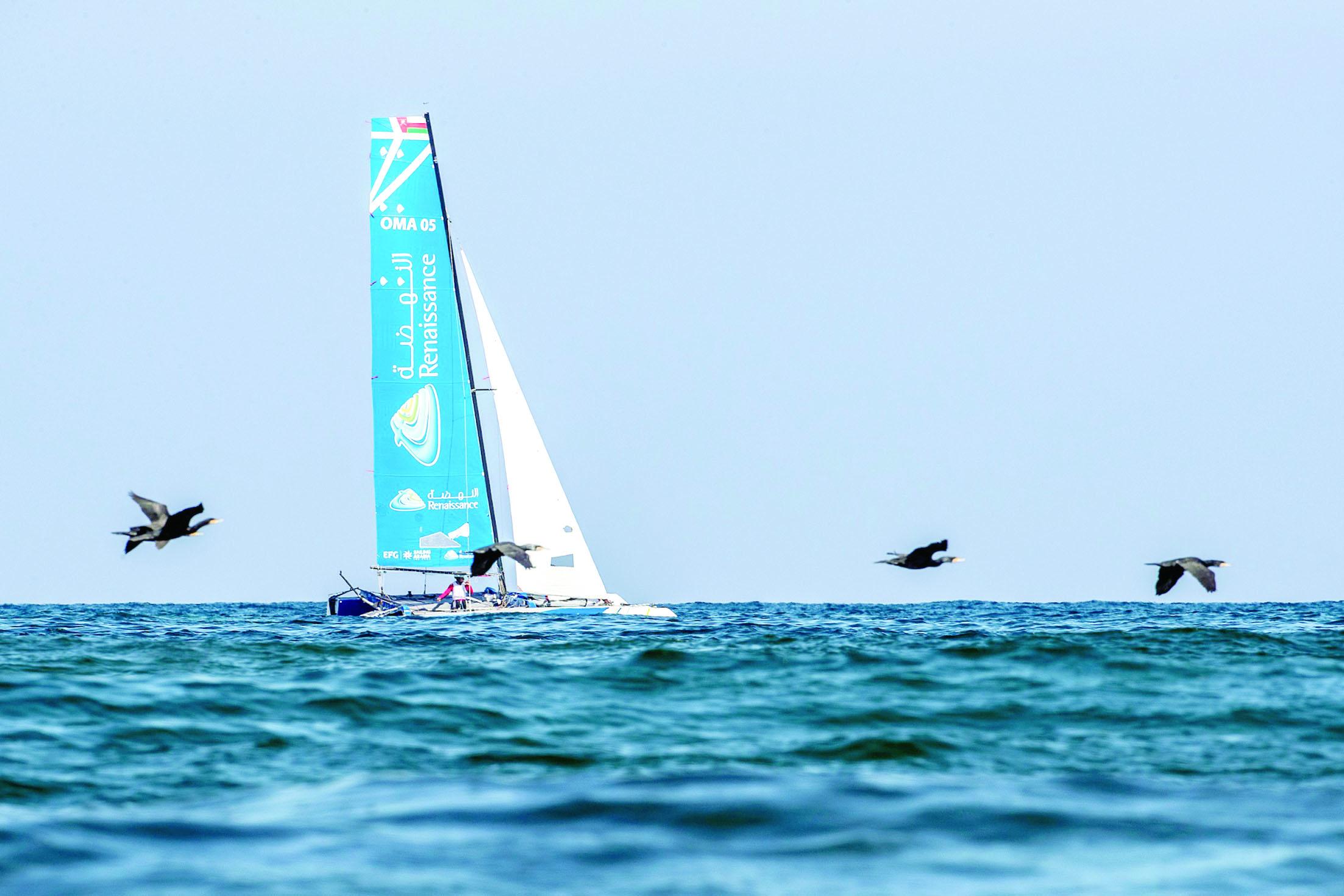ست ساعات من المنافسات في السباق الساحلي بطول 56 كيلومتراً