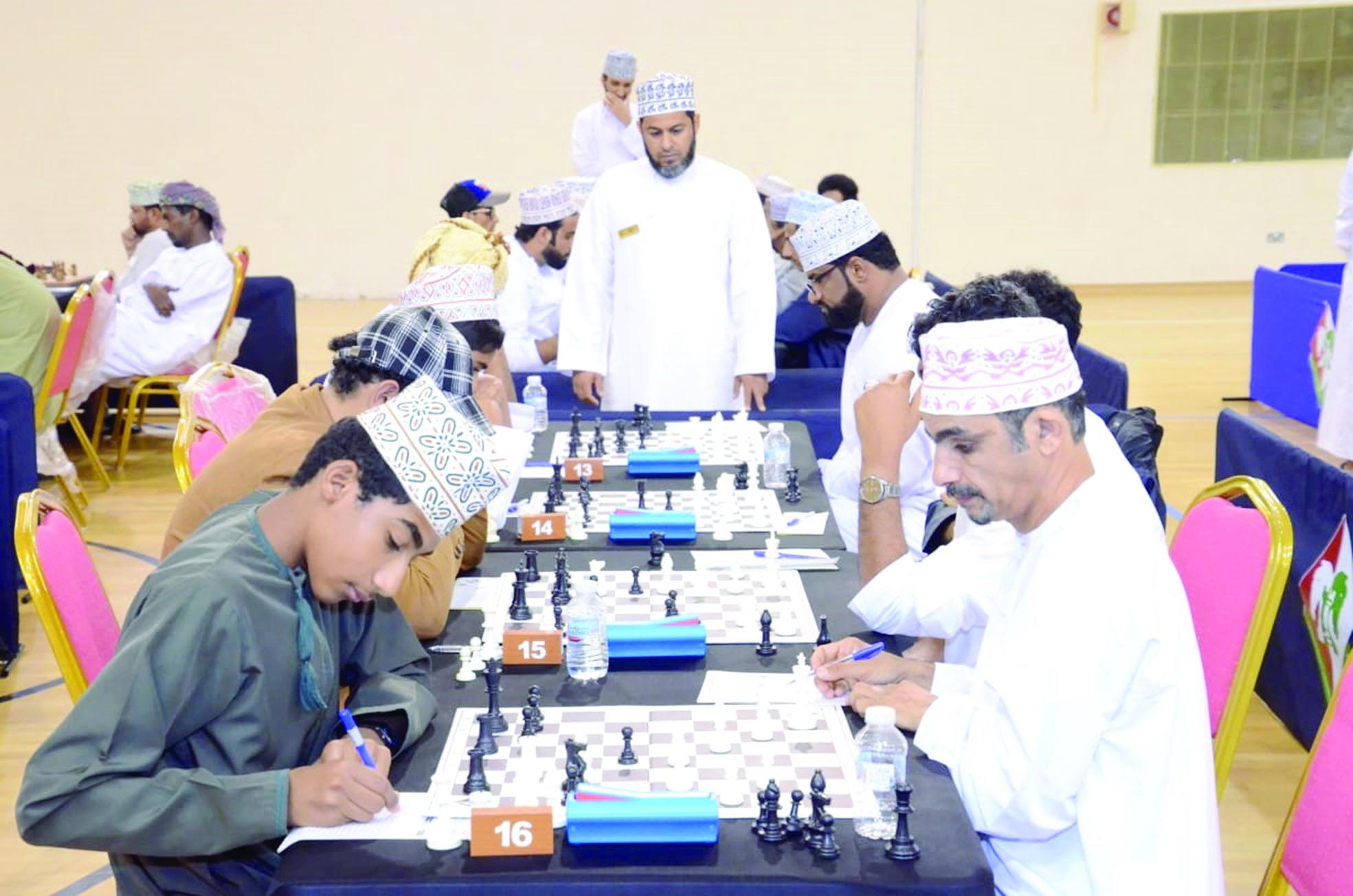 المعشني يتوج بلقب بطولة المنتخب للشطرنج بدون خسارة