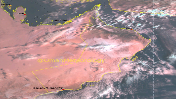 Isolated rains likely in parts of Oman