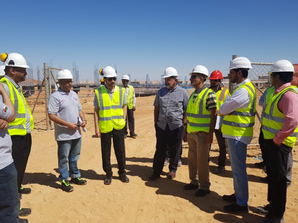Power network in Dhofar receives personal inspection from electricity company's CEO