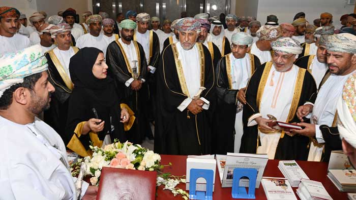 Sayyid Shihab presides over opening of Muscat book fair