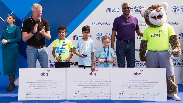 Kids steal the show on final day of Al Mouj Muscat Marathon