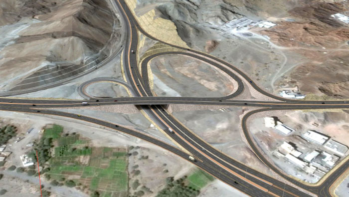 Rusayl-Bidbid road upgrades to help reduce traffic congestion