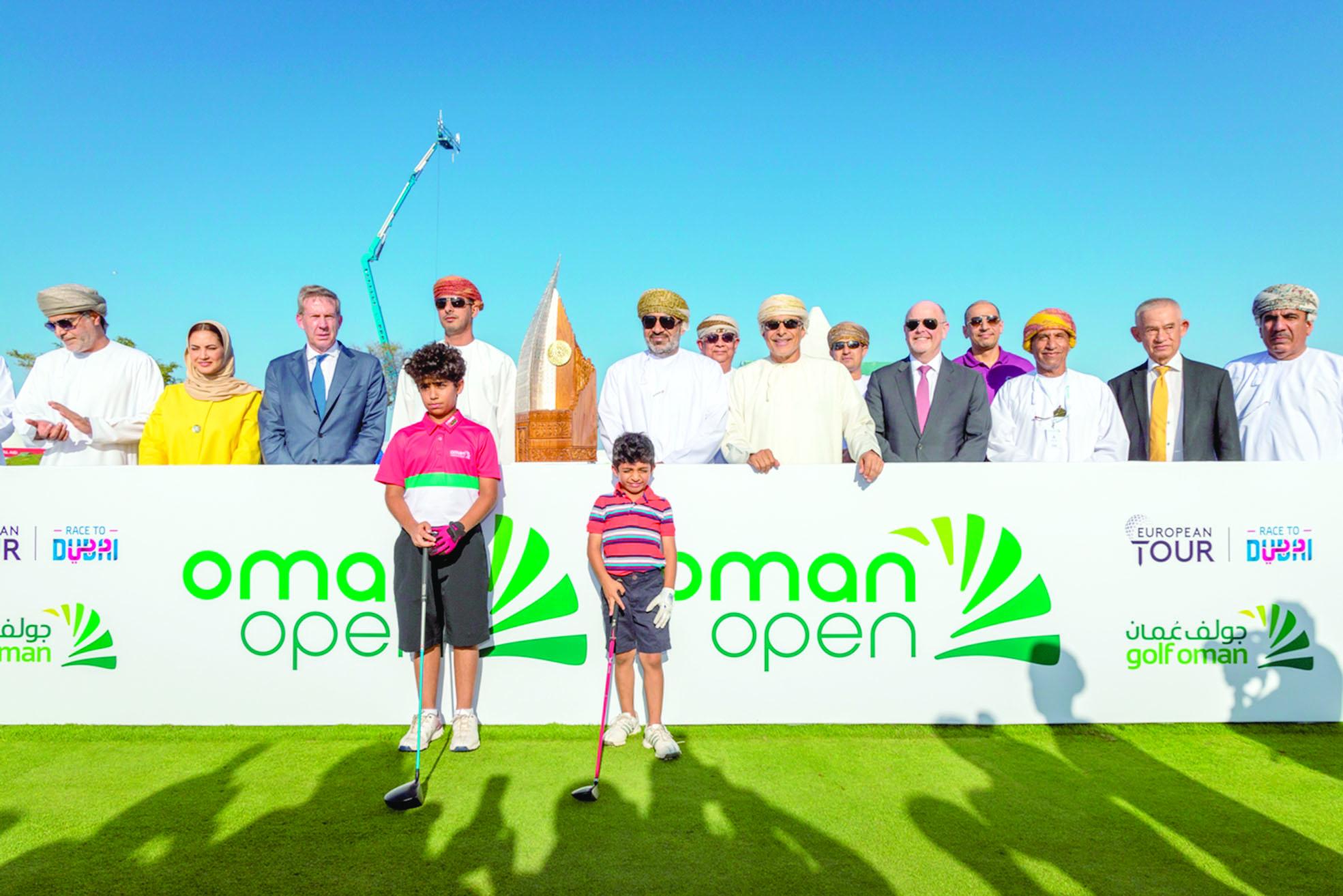 انطلاق المنافسات الرسمية لبطولة عمان المفتوحة للجولف..غدا