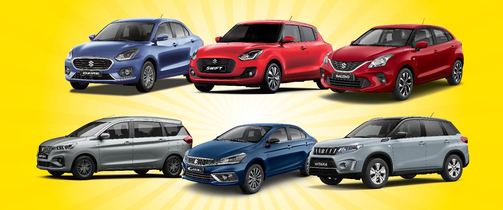 سيارات سوزوكي الجديدة ذات الفوائد القيمة هي الأفضل لبداية عام 2020 الجديد